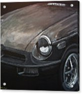 Mgb Rubber Bumper Front Acrylic Print