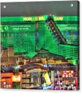 Mgm Grand Las Vegas Acrylic Print by Nicholas  Grunas