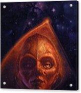 mh mstaw ArtOf 28 KosmicThunder Matthew Stawicki Acrylic Print