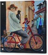Mi Bicicleta Acrylic Print