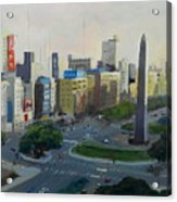 Mi Buenos Aires Querido... Acrylic Print