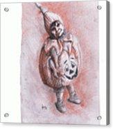 Mi Clabacita Acrylic Print