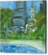 Mi Miami Acrylic Print