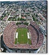 Miami Aerial Of Orange Bowl Stadium Acrylic Print