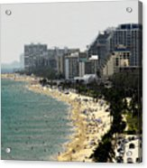 Miami Beach Fla Acrylic Print