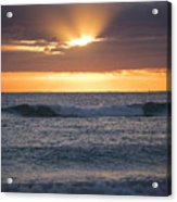 Miami Beach Florida Sunrise Acrylic Print