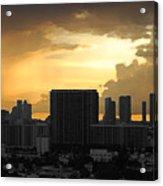 Miami Acrylic Print