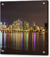 Miami Nights Acrylic Print