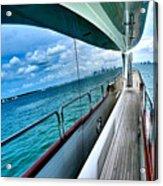 Miami Reflection Acrylic Print