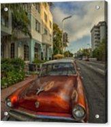 Miami Ride Acrylic Print