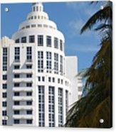 Miami S Capitol Building Acrylic Print