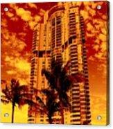 Miami South Pointe IIi Acrylic Print