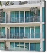Miami Vice Acrylic Print