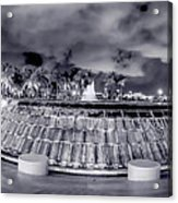 Miami's Bayfront Park Fountain Acrylic Print