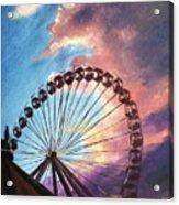Mia's Ferris Wheel Acrylic Print