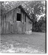 Micanopy Barn Acrylic Print