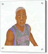 Michael Beasley  Acrylic Print