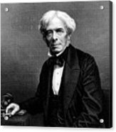 Michael Faraday, English Physicist Acrylic Print