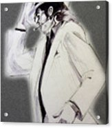 Michael Jackson - Smooth Criminal In Tii Acrylic Print by Hitomi Osanai