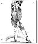 Michael Jackson Dancer Acrylic Print