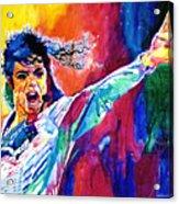 Michael Jackson Force Acrylic Print