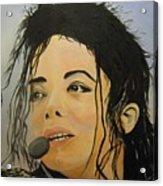 Michael Jackson Acrylic Print