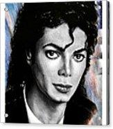 Michael Jackson stamp design Acrylic Print