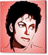 Michael Jackson - Thriller - Pop Art Acrylic Print