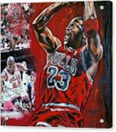 Michael Jordan  Acrylic Print