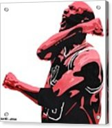 Michael Jordan Acrylic Print by Michael Ringwalt