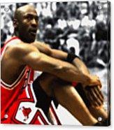 23fca774031d Michael Jordan Preparing For Take Off Mixed Media by Brian Reaves