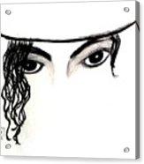 Michael's Eyes Acrylic Print