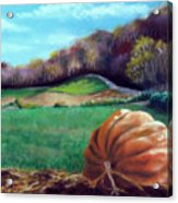 Michael's Great Pumpkin Acrylic Print