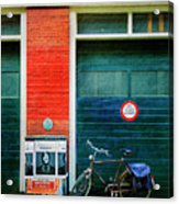 Michel De Hey Bicycle Acrylic Print