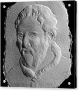Michelangelo Acrylic Print by Suhas Tavkar