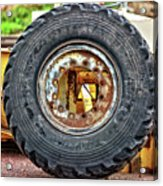 Michelin Weathered And Worn Acrylic Print