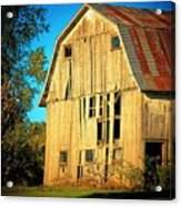 Michigan Barn Acrylic Print