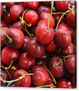 Michigan Cherries Acrylic Print