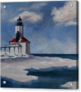 Michigan City Light Acrylic Print