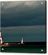 Michigan City Lighthouse By Earl's Photography Acrylic Print