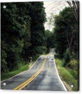 Michigan Rural Roadway In September Acrylic Print