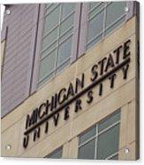 Michigan State University Signage 02 Acrylic Print