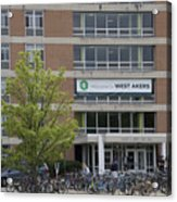 Michigan State University Welcome To Akers Signage Acrylic Print