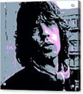 Mick Jagger In London Acrylic Print