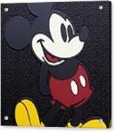 Mickey Mat Acrylic Print