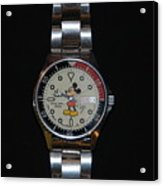 Mickey Mouse Watch Acrylic Print