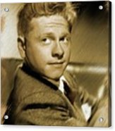 Mickey Rooney, Actor Acrylic Print