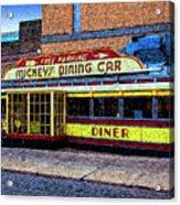 Mickey's Dining Car Acrylic Print