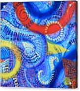 Microcosm Vi Acrylic Print