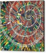 Microcosm Xiv Acrylic Print